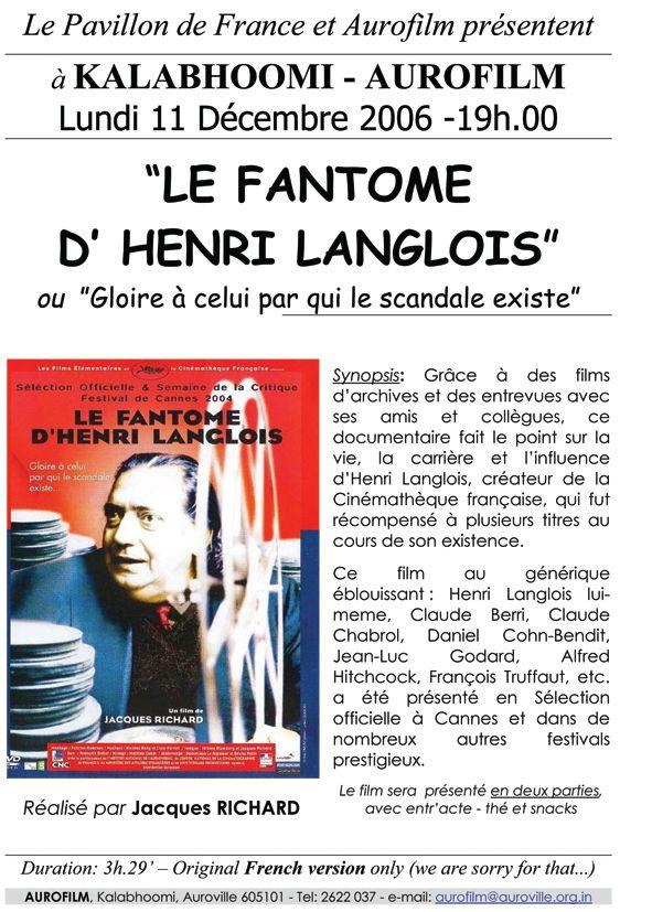 Le fantôme de M. Langlois