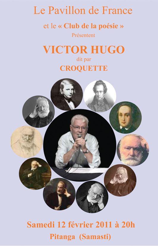 Club de la poésie : Victor Hugo dit par Jean Laroquette (Croquette)