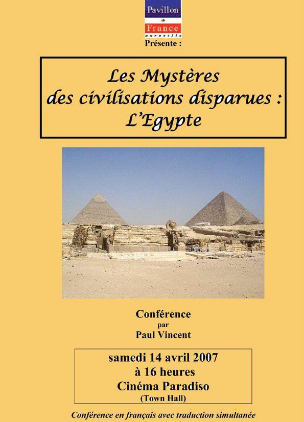 Les mystères des civilisations disparues