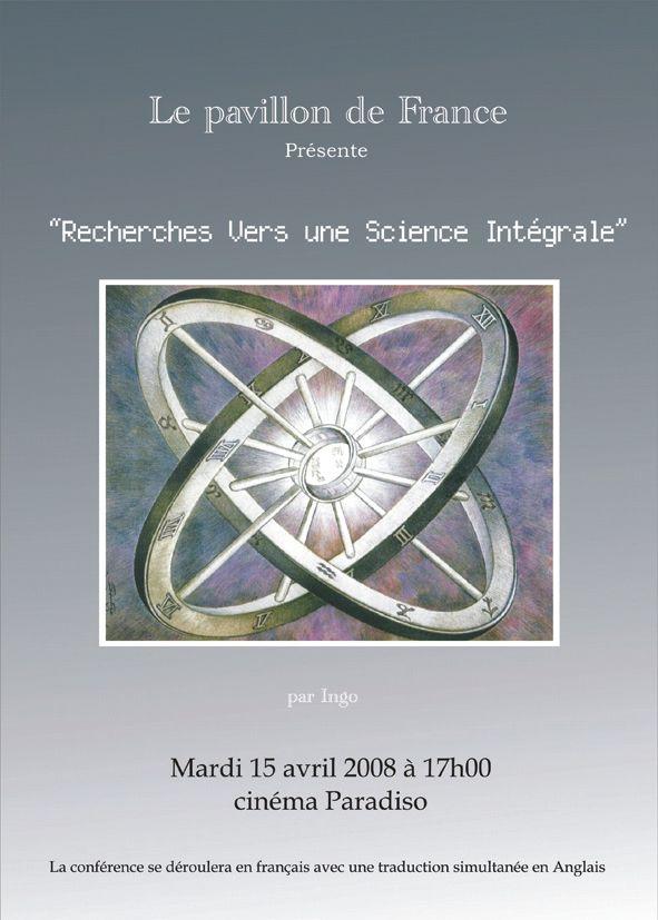 Recherche vers une science intégrale