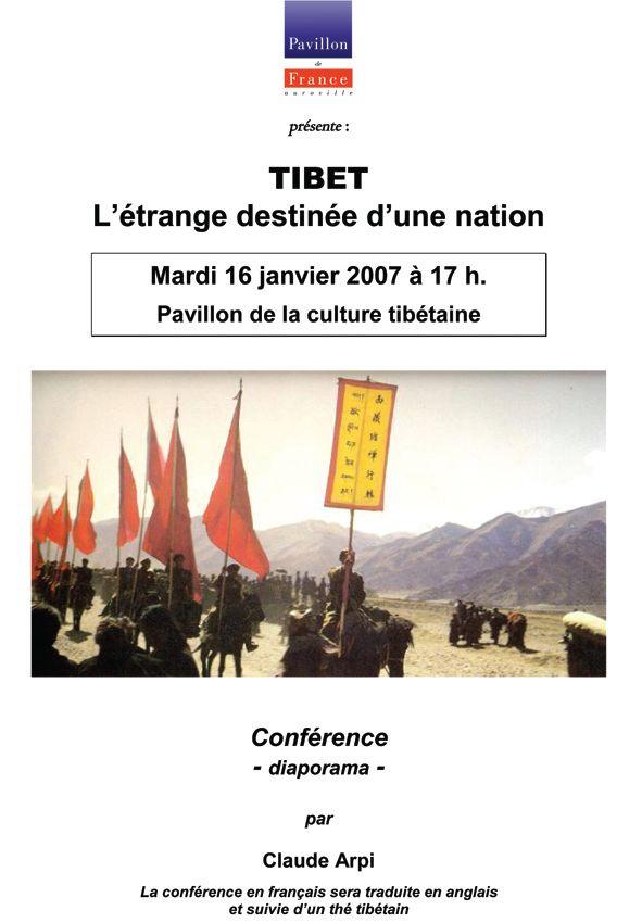 Le Tibet : « L'étrange destinée d'une nation »