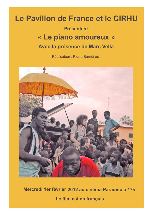 Le piano amoureux – Marc Vella
