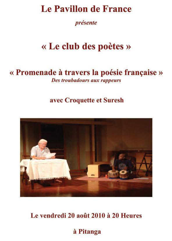 Promenade à travers la poésie française – Des troubadours aux rappeurs