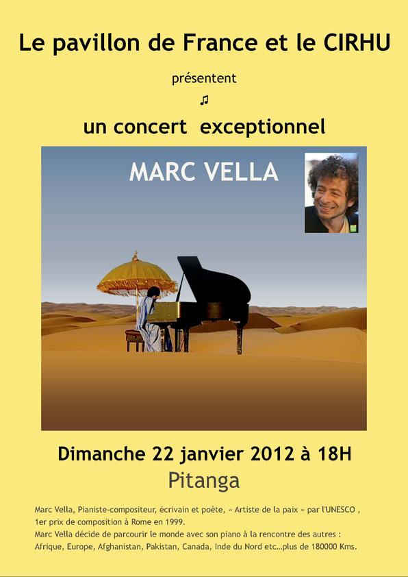 Un concert exceptionnel de Marc Vella