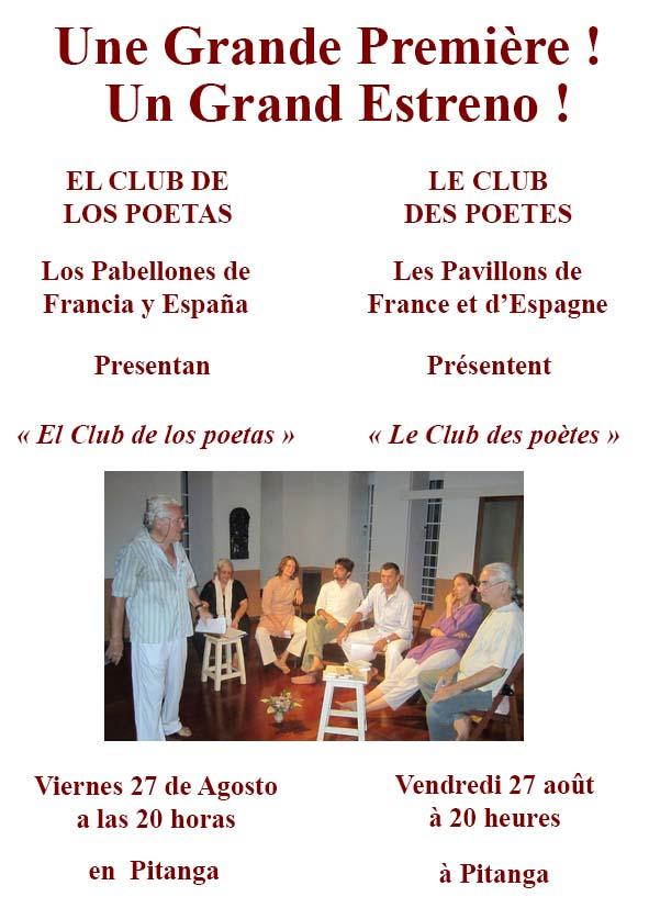 Club de la poésie, soirée franco-espagnole