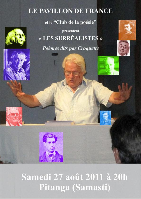 """Soirée Poésie """"Le Surréalisme """""""