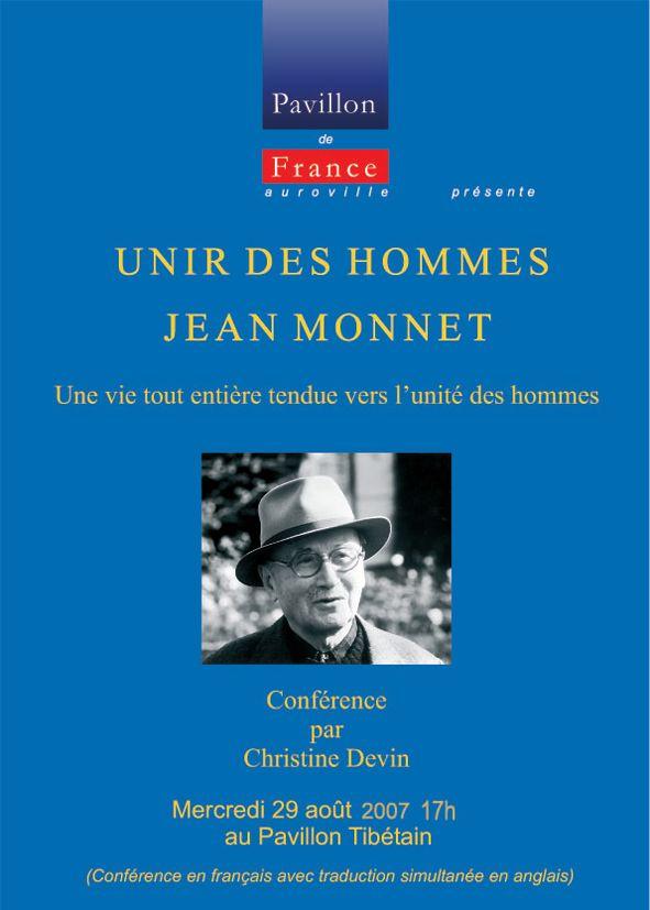 Unir des hommes – Jean Monnet