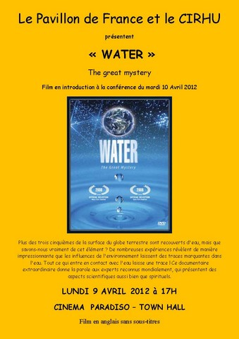 """WATER"" – The great mystery"