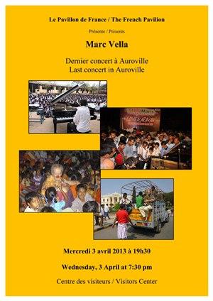Concert de Marc Vella