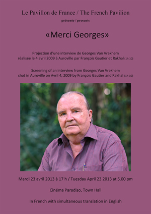 « Merci Georges »