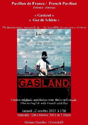 « Gasland », Gaz de schiste