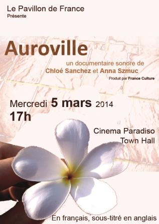 Auroville : documentaire sonore