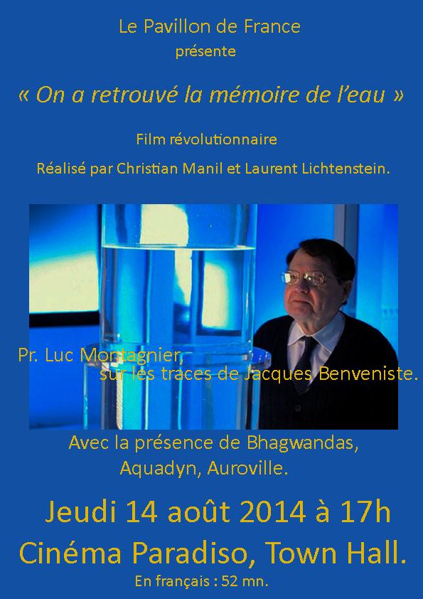Luc Montagnier. On a retrouvé la mémoire de l'eau