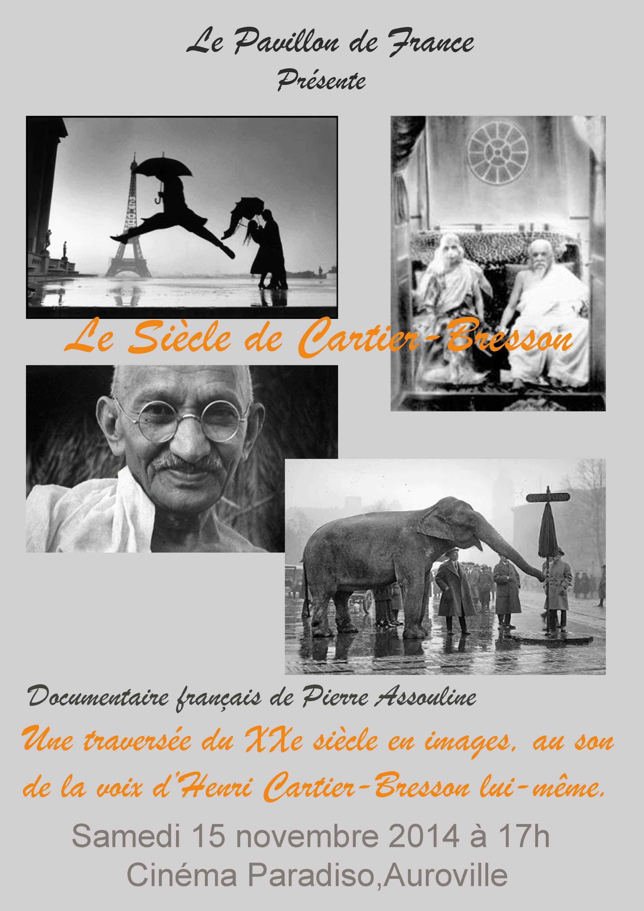 Le siècle Cartier Bresson