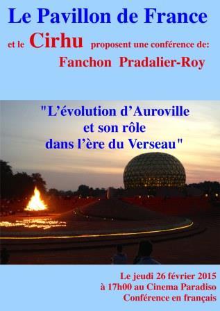 L'évolution d'Auroville et son rôle dans l'ère du Verseau