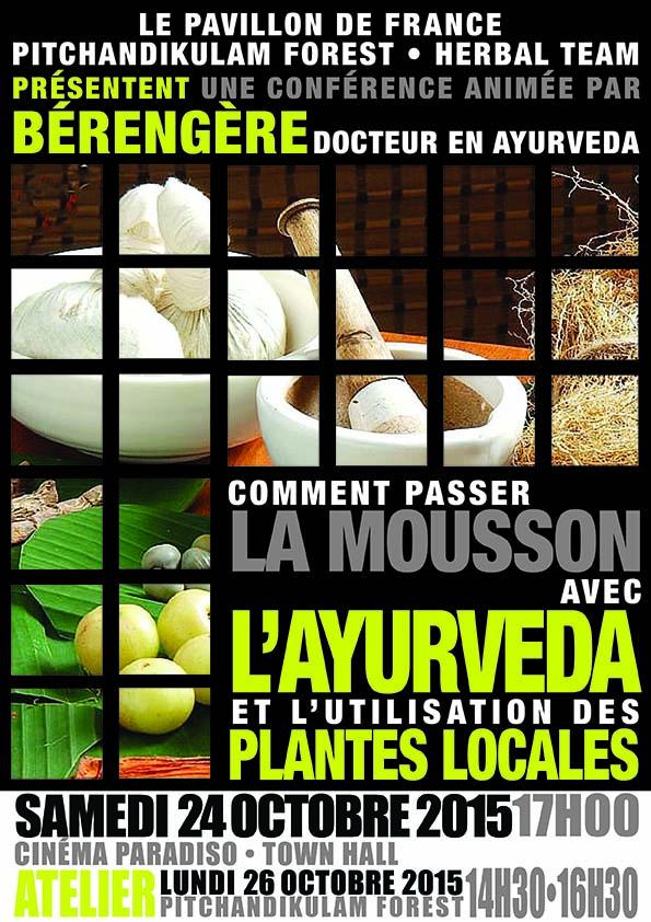 Comment prendre soin de notre corps pendant la mousson avec L'Ayurveda et l'utilisation des plantes locales