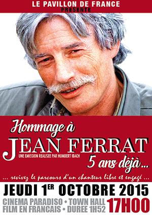 Hommage à Jean Ferrat
