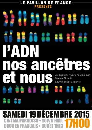 l'ADN nos ancêtres et nous