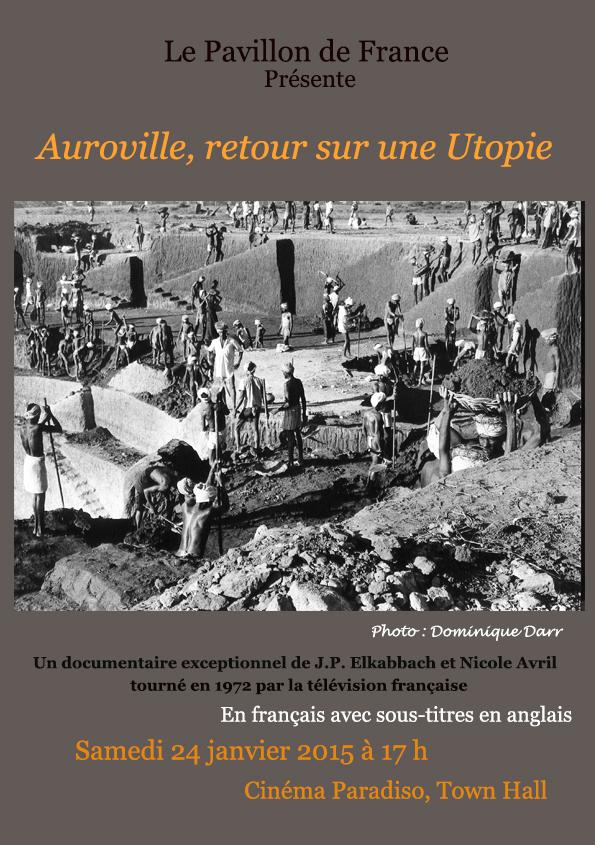 « Auroville, retour sur une Utopie » de 1968 à nos jours