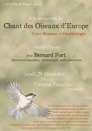 Entre musique et ornithologie