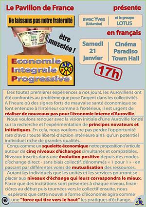 Economie intégrale progressiste