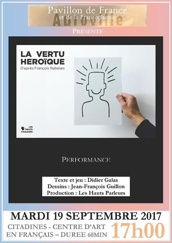 La vertu héroïque (d'après François Rabelais)