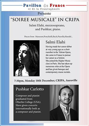 Soirée musicale à Cripa