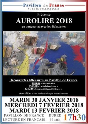 Aurolire 2018 en partenariat avec « Les Baladantes »