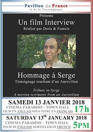 Interview de Serge