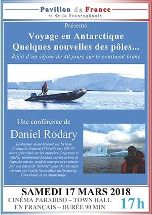 Voyage en Antarctique, quelques nouvelles des pôles…