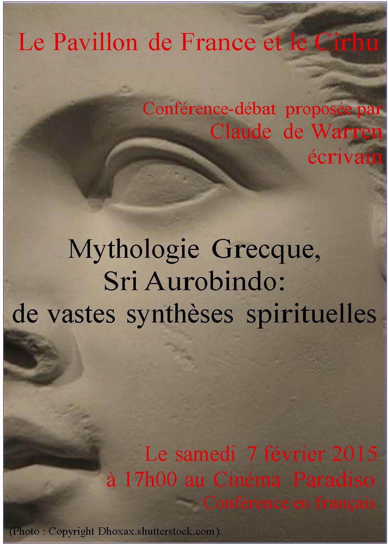 Mythologie grecque, Sri Aurobindo : de vastes synthèses spirituelles