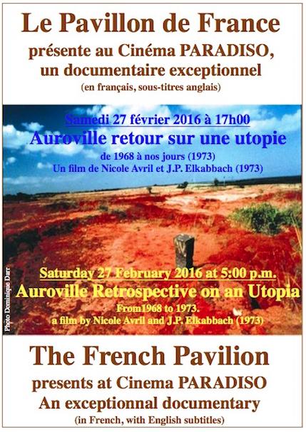 Auroville retour sur une utopie