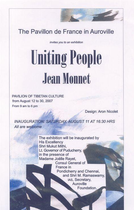 Unir des hommes, Jean Monnet