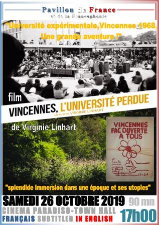 Vincennes, l'université perdue