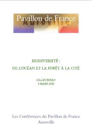Biodiversité : de l'océan et la forêt à la cité